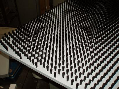 変形千鳥の平板ブラシ